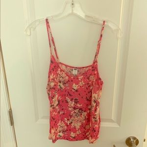 Old Navy Floral Camisole Tank Top